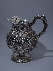 S. Kirk & Son Sterling Silver Water Pitcher C 1910
