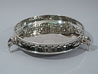 Gorham Sterling Silver Centerpiece Bowl with Elephants 1909