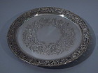 Edward VII English London Sterling Silver Salver 1903