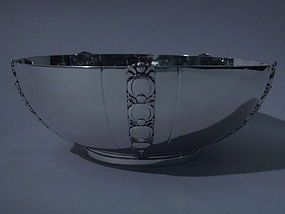 Tiffany Tomato Sterling Silver Bowl C 1945