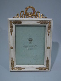 French Empire Gilt Bronze Picture Frame C 1900