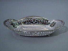Tiffany Sterling Silver Quatrefoil Bowl C 1902