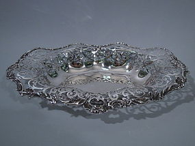 Howard New York Sterling Silver Bread Tray 1892