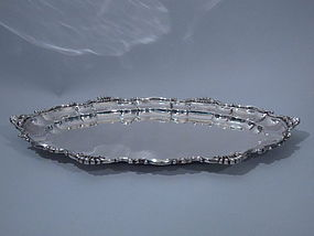 Dominick & Haff Sterling Silver Serving Tray 1898