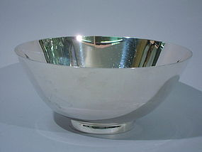 Tiffany Colonial Sterling Silver Bowl C 1920