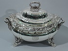 Tiffany Chrysanthemum Sterling Silver Soup Tureen