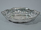 Tiffany Sterling Silver Bread Tray C 1930