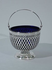 Tiffany Sterling Silver Sugar Basket C 1907