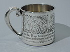 Little Bo Beep Baby Cup - American Sterling Silver