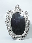 Antique Estate Sterling Silver Picture Frame