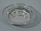 Tiffany Sterling Silver Pierced Bowl C 1911