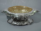 Gilded Age Centerpiece Bowl on Plateau by Gorham