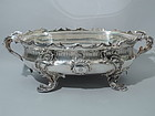 Rococo Silver Centerpiece Bowl by Christofle