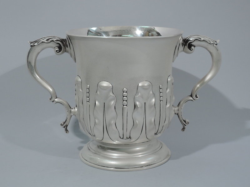 Victorian English Sterling Silver Loving Cup Trophy 1894