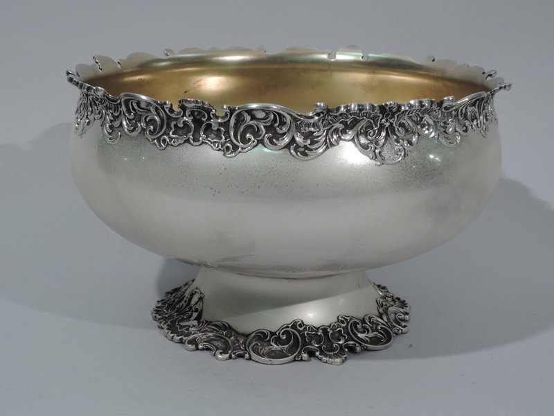 Whiting Sterling Silver Footed Bowl
