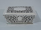 Antique Sterling Silver Jewelry Box by Reed & Barton