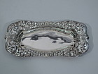 Antique Sterling Silver Pin Tray by Tiffany