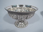 Tiffany Aesthetic Antique Sterling Silver Compote C 1882