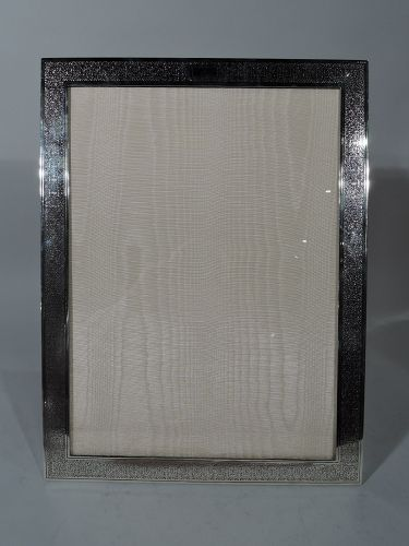 Large Antique Tiffany Sterling Silver Picture Frame Item