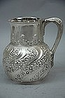 Tiffany Sterling Silver Water Pitcher C 1895