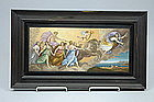 Micro Mosaic Plaque Mythology Scene Circa 1870