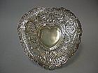 Victorian Silver Bowl By Wm. Comyns, London, 1890