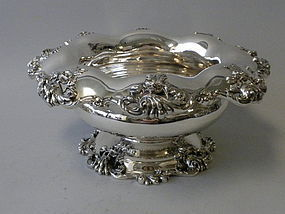 Mauser Sterling Silver Art Nouveau Punch Bowl