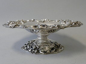 Redlich Sterling Silver Compote in Art Nouveau Style