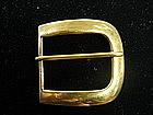 Tiffany & Co. 18 Karat Gold Belt Buckle