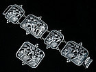 GORGEOUS PERUZZI BOSTON SILVER FIGURAL BRACELET / PIN