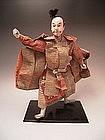 Japanese Meiji Period Samurai Doll