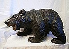 Japanese Mid 20th C. Hokkaido Carved Wood Ainu Bear