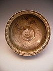Japanese Early 20th Century Ki-Seto ware bowl