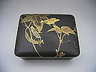 Japanese Meiji Period Lacquer Box