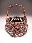 Japanese LNT Maeda Chikubosai II Bamboo Flower Basket