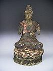 Japanese 19th C. Dainichi Nyorai Cosmic Buddha