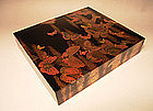 Japanese Mid 19th C. Lacquer Box by Nakamura Soutetsu