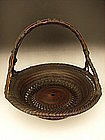 Japanese Early 20th C. Maeda Chikubosai I Basket