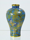 A Chinese Cloisonne Meiping Vase, 18th ~ 19th Century.