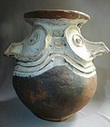Large Aibom Sepik River New Guinea Terracotta Vessel