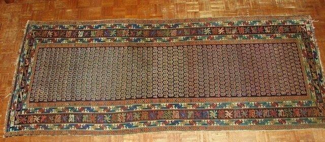 Antique Shirvan Caucasian Long Rug