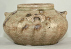 Chinese Tang Dynasty Changsha Kiln Stoneware Water Jar