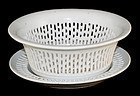 Chinese Qing Export Porcelain Reticulated Fruit Basket