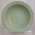 Chinese Yuan to Ming Longquan Celadon Dish