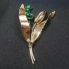 Sterling By Jordan Vermiel Flower Brooch