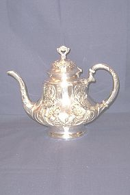Sterling Silver Teapot; Wallace