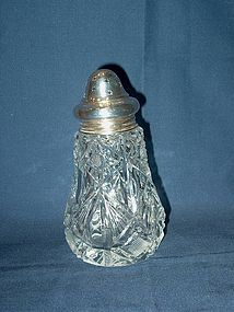 Victorian Silver and Cut Glass Sugar Caster