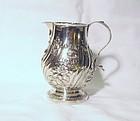 Georgian Silver Creamer; 1792