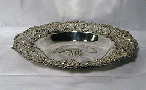 S. Kirk & Son Sterling Silver Repousse Fruit Bowl
