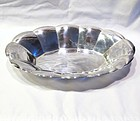 Tiffany Sterling Scalloped Bread Tray